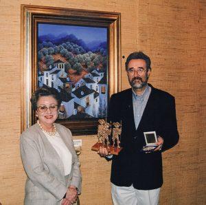 Entrega de premios a Luis Romero