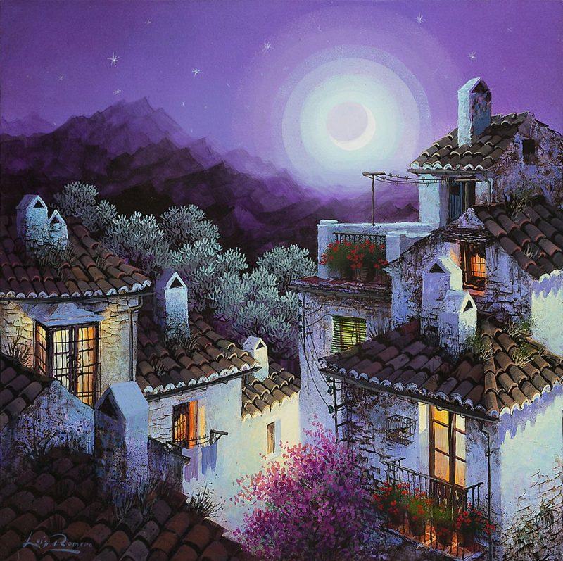 Halos de luna creciente